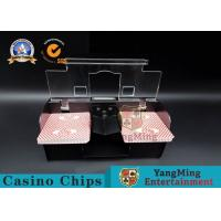 Casino Exclusive Deluxe Automatic 2 Deck Playing Card Shuffler Double Deluxe