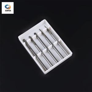 Cheap Polish Surface Carbide Cutter Round Burr / Carbide Cutter Blade Burrs wholesale