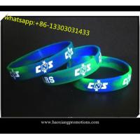Cheap Sport silicone wristband for sale Print / Debossed / Embossed silicone bracelet wholesale