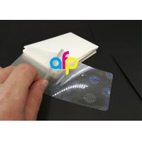 Cheap Hologram Laminating Pouches Matte Finish / Glossy wholesale