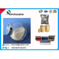 Buy cheap Local Anesthetic Drugs 85-79-0 Cinchocaine Raw Powder Dibucaine Hydrochloride from wholesalers