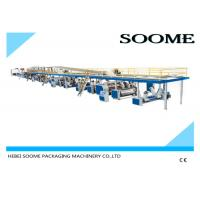 Cheap Fully automatic corrugated carton box 3 ply production line making machine 1800 mm wholesale