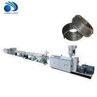 Cheap PE PP Pvc Electrical Conduit Pipe Making Machine Fully Automatic Low Noise wholesale