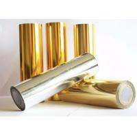 China Chemical Resistant Polyester Laminating Film , Reliable Aluminized PET Film on sale