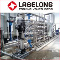 China Small Capacity Reverse Osmosis Water Filteration System 1000L For Water Bottling on sale