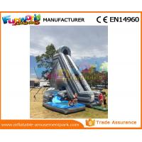 Cheap Large Hurricane Outdoor Inflatable Water Slides CE Certificated 125x80x80 cm wholesale