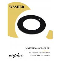 Cheap Customized Oilless Resin Sliding Materials Washer & Flat PTFE Gasket wholesale