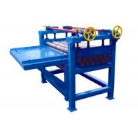 China Sheet Metal Plate Floor Leveling Machine , Automatic Steel Roll Straightening Machine on sale