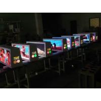 Cheap SMD 3528/2727 full color taxi top advertising led display for indoor / outdoor wholesale