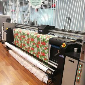 China Banners Fabric Plotter Large Format Printers 128M RAM Digital Printing on sale