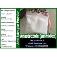 Buy cheap Anti Estrogen Raw Powder Anastrozole (arimidex) For Steroid PCT CAS 120511-73-1 from wholesalers