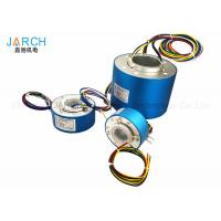 China Electrical Connector Hollow Slip Ring Rotary Joint With Aluminium Alloy Housing on sale