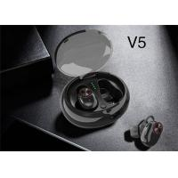 Cheap V5 Bluetooth V4.2 Earphones Mini TWS Earbuds Wireless Stereo Handsfree Car Headsets Charging Box with Mic for Smartphon wholesale