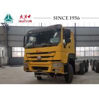 Buy cheap 10 Wheeler HOWO 6X4 Tractor Truck With 420HP Euro IV Engine For Philippines from wholesalers