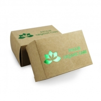Cheap Die Cutting Recycled Package Kraft Paper Soap Box With Hot Stamping wholesale