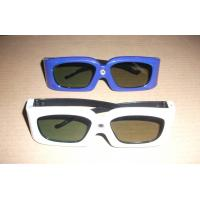 Cheap Green Blue Stereoscopic Universal Active Shutter 3D Glasses Compatible Link wholesale