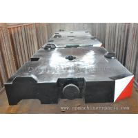 Cheap Construction Machinery Parts Crane counterweight With CE ISO Approved wholesale