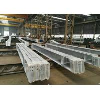 Cheap Fast Construction Industrial Steel Frame Buildings , Durable Steel Frame Office Building wholesale