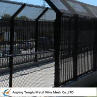 Cheap Bridge Fence|Anti-Throw Coated Driveway Bridge Wire Fencing 40x80mm Opening China wholesale