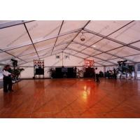 Cheap Polygon Aluminum Frame Outdoor Event Tent , Outside Party Tents With Glass Door wholesale