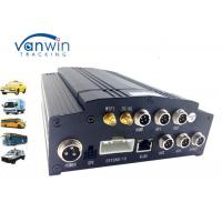 Cheap Vehicle HDD Mobile DVR 4CH AHD 720P , Realtime 3G / 4G wifi car dvr GPS G - sensor wholesale