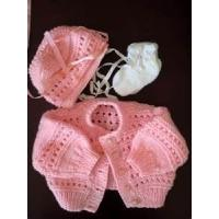 Cheap Cute fashionable design handmade knitted baby clothes for Summer wholesale
