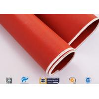 Cheap Non Flammable Abrasion Resistance Silicone Coated Fabric 1010g High Strength wholesale