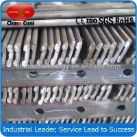Cheap Q235 S22 light steel rail and fish plate from China wholesale