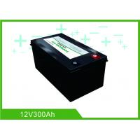 Buy cheap Black Lithium RV Deep Cycle Battery 12V 300A Low Temperature Charging Long Lifespan from wholesalers