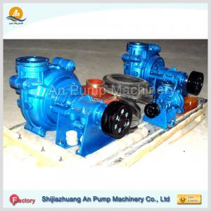 Cheap acid resisting rubber slurry sludge mine pump wholesale