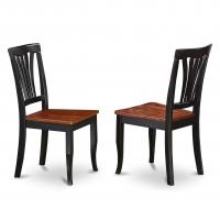 Cheap Customizable Size Wooden Dining Room Chairs Black Hardwood Frame Eco - Friendly wholesale