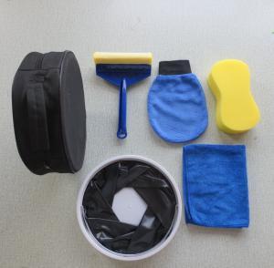 Cheap Car Cleaning Kit Set Car Wash Glove Tire Brush Microfiber Cloth wholesale