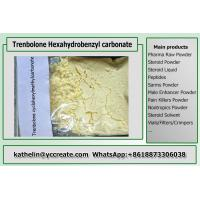 Cheap Steroid Raw Powder Trenbolone Hexahydrobenzyl Carbonate / THC For Muscle Gains CAS 23454-33-3 wholesale