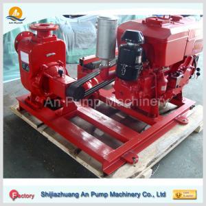 Cheap self-priming sewage pumps with diesel engine wholesale