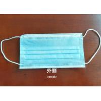 Cheap common use 3 layer disposable non-woven face masks surgical level   virus resistant facial mask wholesale