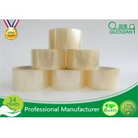 Cheap Clear Shipping Storage Box BOPP Sealing Tape Single Sided ISO SGS wholesale