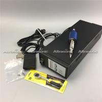 High Speed Black Ce 30K Ultrasonic Fabric Cutting Machine With Low Noise