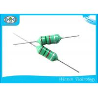 Cheap Green LGA Color Code Fixed Inductor Small Size 0204 - 0510 With Epoxy Resin Coating wholesale