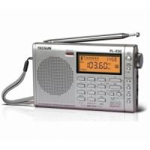 Cheap TECSUN PL450 FM stereo SW MW LW PLL Shortwave Digital Full Band Portable Radio Synthesized Receiver wholesale