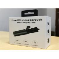 Cheap 2018 New arrival and private tooling Twins TWS wireless earbuds with Charging box TWS01 wholesale
