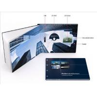 Cheap Promotional handmade digital video brochure , Multi - page lcd video card wholesale