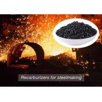 Cheap Low Sulfur Graphite Recarburizer / Calcined Anthracite Coal For Steel Making wholesale