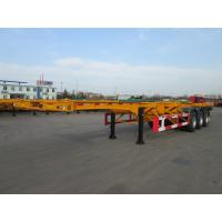 Cheap tri axle 40ft container chassis semi trailer  for sale - CIMC VEHICLE wholesale