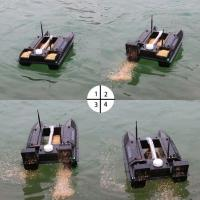 Big power motor 7channels rc fishing bait boat of hyzbaitboat for Fish catching rc boat
