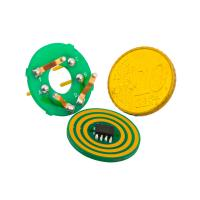 Cheap 3 Circuits Small Dimension Separate Pancake / Flat Slip Ring Transferring Power and Other Signals wholesale