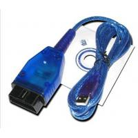 Buy cheap USB KKL VAG COM For 409.1 with Blue USB Car Diagnostic Cable from wholesalers