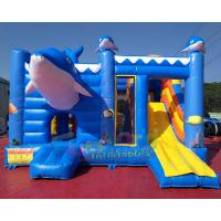 Cheap EN14960 Inflatable Bouncer Slide Combo With Hand Pringting Customized Size wholesale