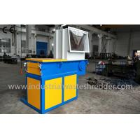 Cheap Automatic Solid Waste Shredder Low Power Consumption For Plastic PET Bottles wholesale