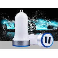 Cheap Cheap Price Portable Universal Fast Charging Electric 5V 2.4A Mobile Smart IC Dual Ports Usb Phone Car Charger For iPhon wholesale