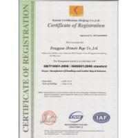 iDemalo Bags Co., Ltd. Certifications